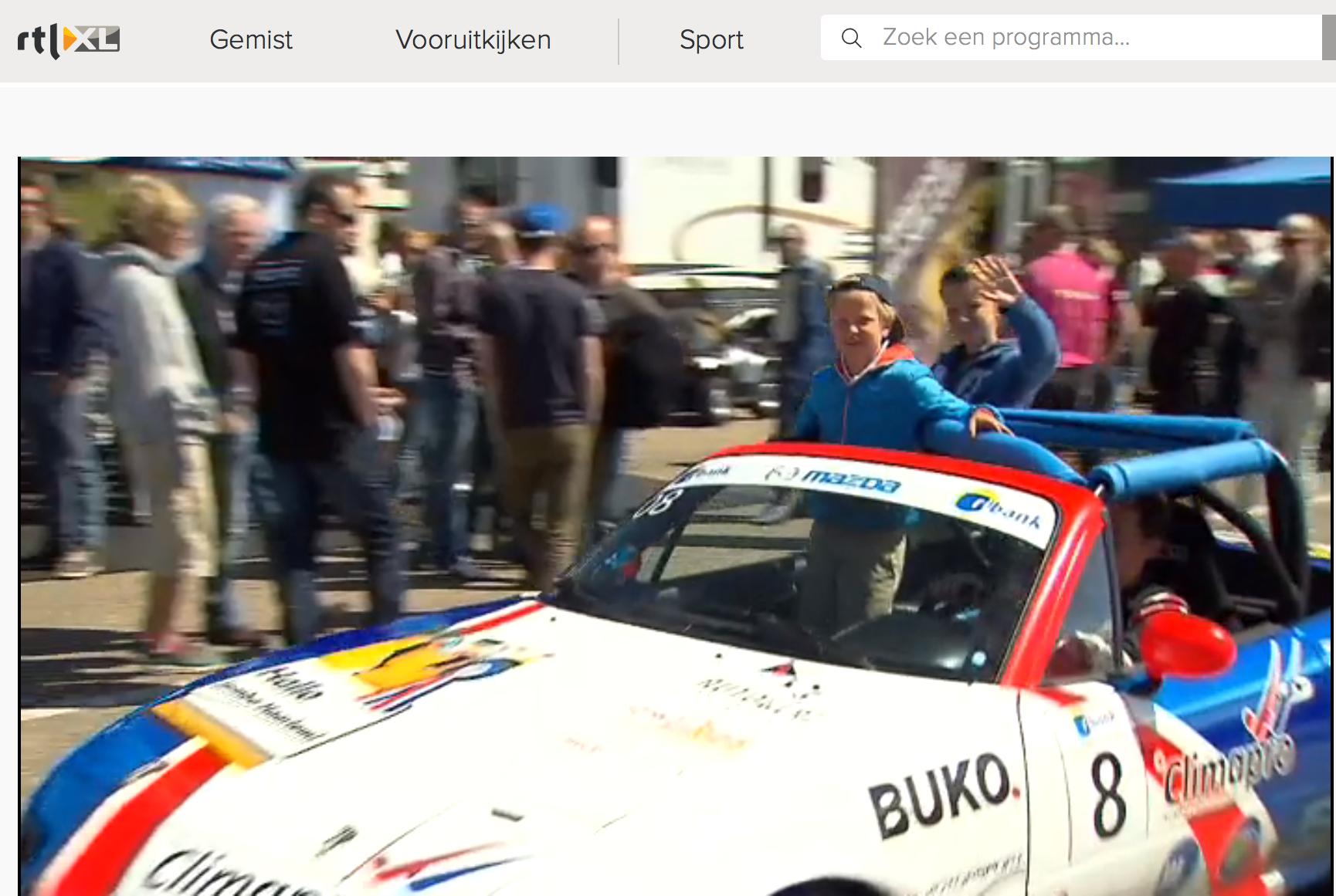 JENracingteam volop in beeld bij RTL7 Autowereld