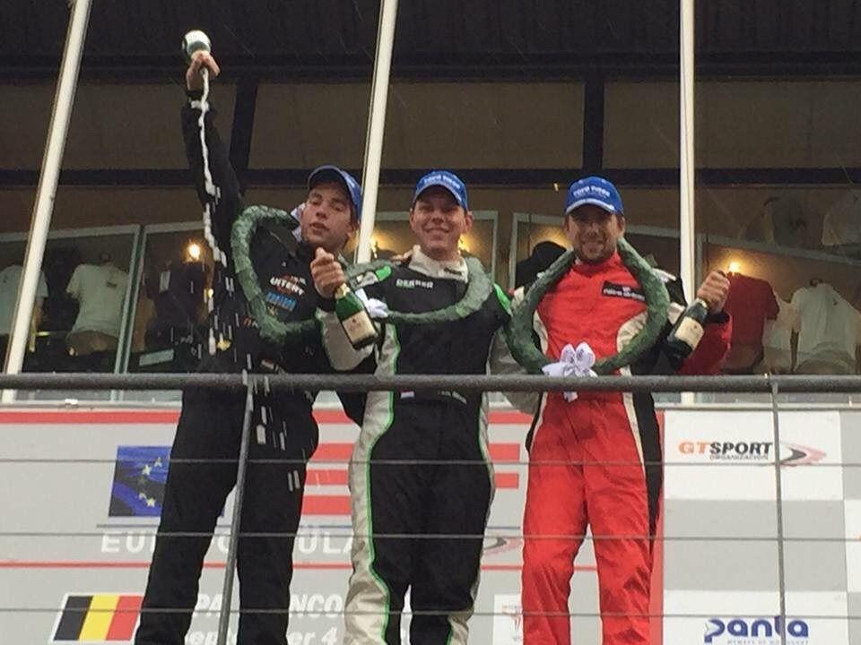 JEN racingteam scoort podiumplaats in Spa!